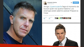 Alejandro Fantino, enojado con ¿Santiago del Moro? (Foto: Web)