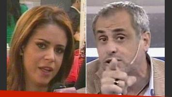 Marianela Mirra atacó de nuevo a Jorge Rial. (Fotos: Capturas TV)