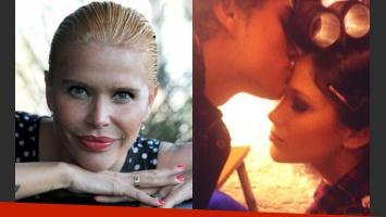 Nazarena Vélez publicó una foto muy dulce de Barbie con Augusto Schuster (Fotos: Web y Twitter).