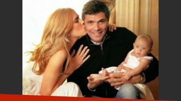 Viviana Canosa, Alejandro Borensztein y su hija Martina. (Foto: Archivo)