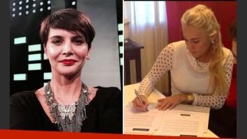 Amalia Granata y su durísimo tweet contra Rocío Oliva. (Foto: Web)