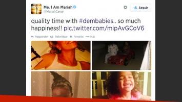 """Mariah Carey: publicó una selfie """"actual"""" y una fan la deschavó al revelar que era de 1997. (Foto: @MariahCarey)"""