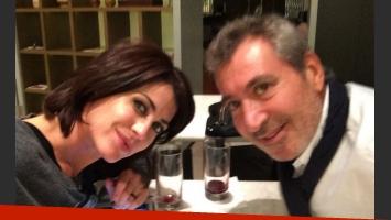 Pamela David y Daniel Vila, rumbo a Miami (Foto: Twitter)