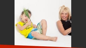 Thiago Rodríguez y Lola Vila, campaña de ropa infantil (Fotos: Pecosos)