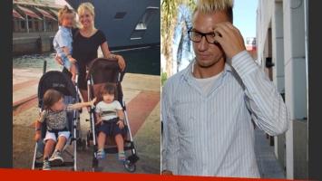 Maxi López restituyó a sus hijos luego de las vacaciones. (Foto: Web)