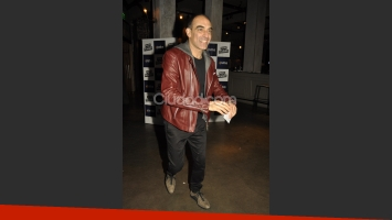 Mauricio Dayub en el estreno de El Crédito. (Foto: Jennifer Rubio-Ciudad.com)