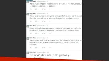 Marianela Mirra contra Jorge Rial (Foto: Twitter)