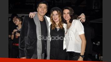 Juana Repetto con Nico y Florencia Raggi. (Foto: Jennifer Rubio-Ciudad.com)
