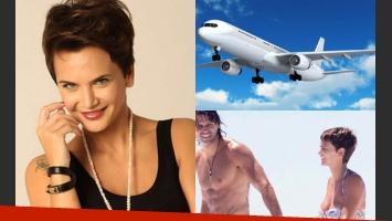 Amalia Granata contó sus peripecias para tomarse una avión a Cuba (Fotos: Web).