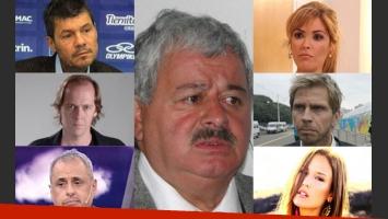 Los famosos se solidarizaron con Tití Fernández (Fotos: Web).