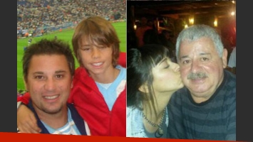 Tragedia calcada: en 2006 murió el hijo del Turco Mohamed en un accidente en el Mundial de Alemania. (Fotos: Web)