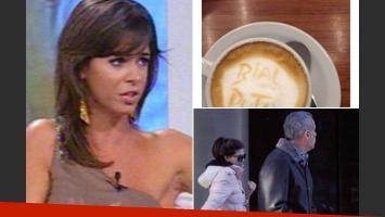 Marianela Mirra y un agresivo (pero original) mensaje en Twitter para Rial (Fotos: Web y Twitter)