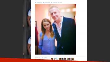 Marley compartió su foto con Débora Falabella. (Foto: Twitter @marley_ok)