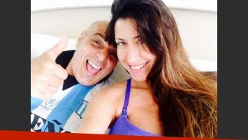 Zeta Bosio y su mujer. (Foto: Facebook)