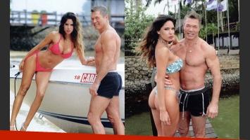 Fernando Burlando y Bárbara Franco, enamorados en Brasil (Fotos: Caras).