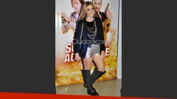 Virginia Gallardo disfrutó de la película (Fotos: Jennifer Rubio).