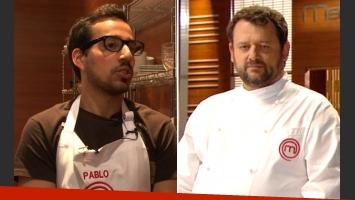 Christophe y su reto 2.0 a Pablo de MasterChef. (Foto: Web)