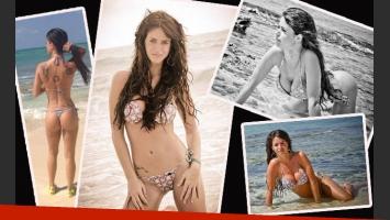 El escándalo quedó lejos: Marianela Mirra, súper sexy en las playas de Brasil. (Foto: Facebook)