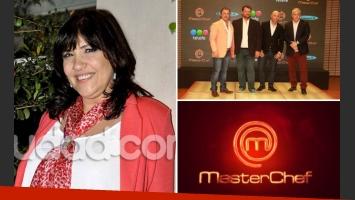 La Negra Vernaci y su crítica para MasterChef. (Foto: Ciudad.com y Web)