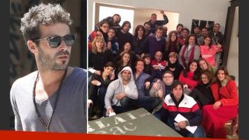 La elocuente ausencia de Nicolás Cabré en la foto de MADS. (Foto: Twitter)