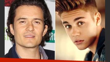 ¡Escándalo!: ¿Orlando Bloom le pegó una trompada a Justin Bieber? (Foto: Web)