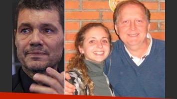 Tinelli se emocionó con la carta de Lucía Bodo tras la muerte de su papá. (Fotos: Web)