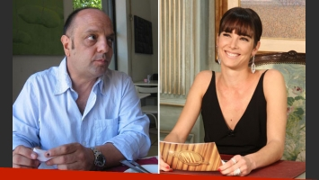 Baby Etchecopar y su crítica a la conducción de Juana Viale. (Foto: Web y Prensa El Trece)