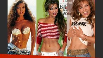 Thalía: revelan el gran secreto de la cintura de avispa de la cantante. (Foto: Web)
