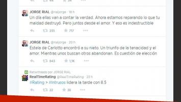 Jorge Rial habló de la crianza de sus hijas y apuntó a su ex (Fotos: Web).
