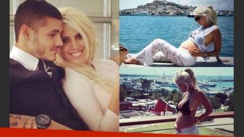 Wanda Nara y Mauro Icardi esperan su primer hijo (Fotos: Web).