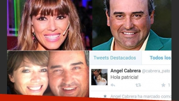 El tweet del Pato Cabrera para Coki Ramírez. La relación sigue en pie. (Fotos: Twitter y archivo Web)