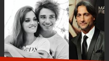 Oriana Sabatini, Julián Serrano y Ova se cruzaron por teléfono. (Fotos: Web)