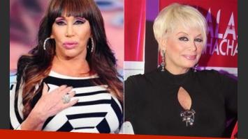 Moria Casán y Carmen Barbieri, sobre el chip sexual (Foto: Web)