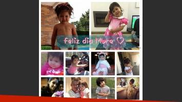 Las hijas de Marcos Rojo. (Foto: Twitter)
