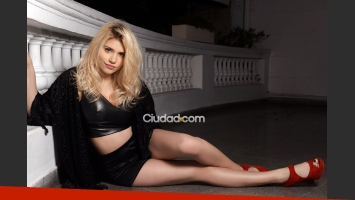 Eva de Dominici, futura femme fatale. (Foto: Maxi Didari - Ciudad.com)