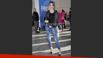 Verónica Lozano eligió un look muy canchero (Fotos: Jennifer Rubio).