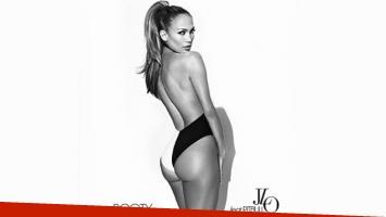 La sensual tapa de Booty, el último disco de Jennifer López. (Foto: Web)