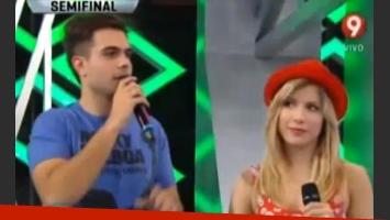 Thiago Batistuta y Laurita Fernández negaron su romance, pero... (Foto: captura TV)