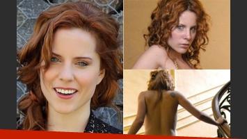 Agustina Kämpfer, protagonista de una producción muy hot. (Fotos: Web)