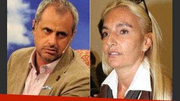 Jorge Rial y Silvia D Auro. (Foto: Web)