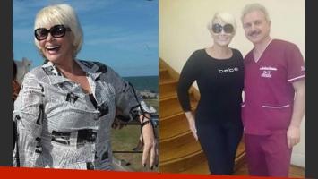 Carmen Barbieri mostró el antes y después de su cuerpo (Foto: Web y Twitter)