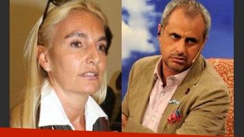 Silvia D´Auro, ex mujer de Rial, fue denunciada ante el INADI (Fotos: Web).