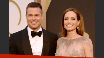 OMG! Angelina Jolie y Brad Pitt se casaron en secreto en Francia. (Foto: Web)