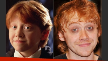Rupert Grint, el amigo de Harry Potter: de tierno niño mago a… ¿qué le pasó? (Foto: Web/AFP)