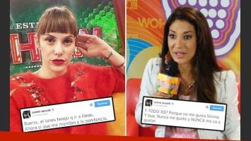 Connie Ansaldi vs. Silvina Escudero. (Foto: Web)