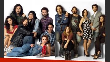 Viudas e hijos del Rock & Roll, la nueva apuesta de Telefe (Fotos: Prensa).