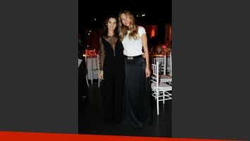 Yanina Solnicki y Andrea Bursten, solidarias.  (Foto: Red Carpet Agency)