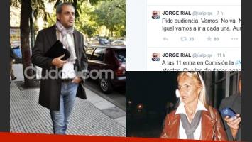 Jorge Rial y un nuevo tweet contra su ex. (Foto: archivo)