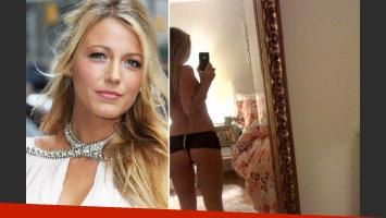 Blake Lively: filtran fotos desnuda en su intimidad. (Foto: Web)