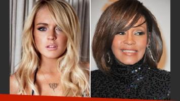 A Lindsay Lohan la obligaron a preparar el cadáver de Whitney Houston. (Foto: Web)